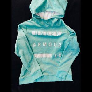 Under Armour Teal Fleece Hoodie